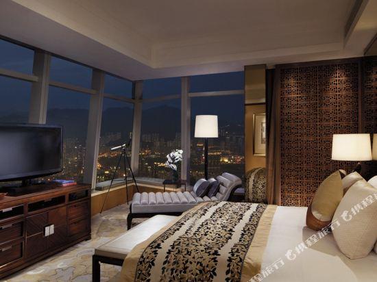 香港麗思卡爾頓酒店(The Ritz-Carlton Hong Kong)維港海景尊貴商務套房