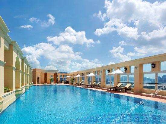 香港帝苑酒店(The Royal Garden Hotel)室外游泳池