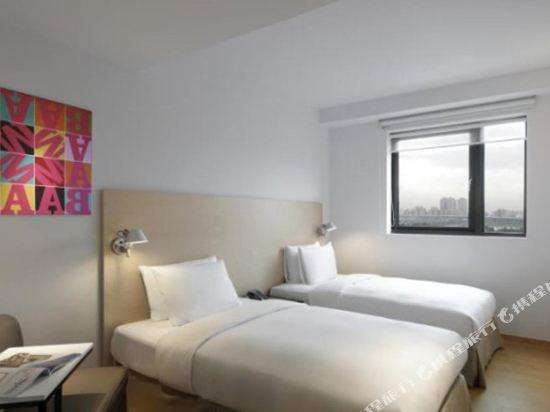台北西門町意舍(Amba Taipei Ximending)雙人雙床房