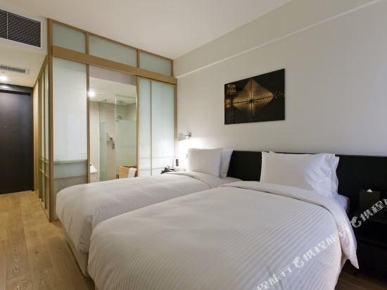 首爾明洞喜普樂吉酒店(原首爾黃金鬱金香M酒店)(Sotetsu Hotels The SPLAISIR Seoul Myeongdong)豪華扁柏雙床房