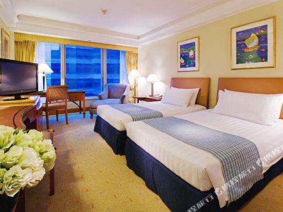 香港九龍海逸君綽酒店(Harbour Grand Kowloon)園景房