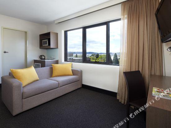 霍巴特旅客之家酒店(Travelodge Hotel Hobart)行政大床房