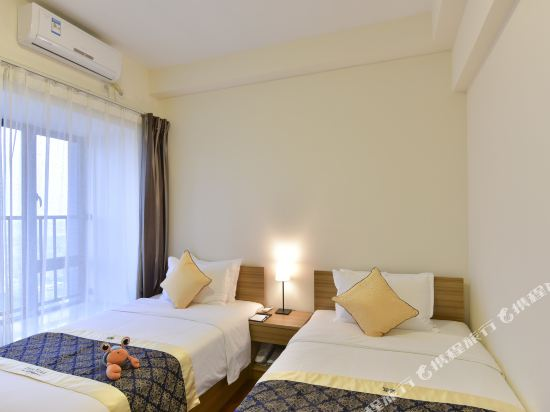 斯維登服務公寓(廣州琶洲國際會展門店)(Sweetome Vacation Rentals (Guangzhou Pazhou International Convention and Exhibition Center))商務套房(雙床)