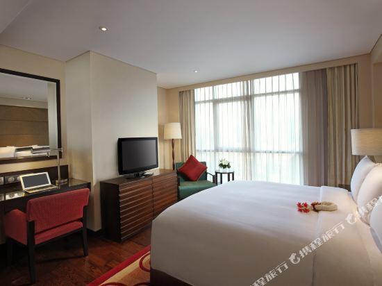 曼谷撒通維斯塔萬豪行政公寓(Sathorn Vista, Bangkok - Marriott Executive Apartments)一卧室套房