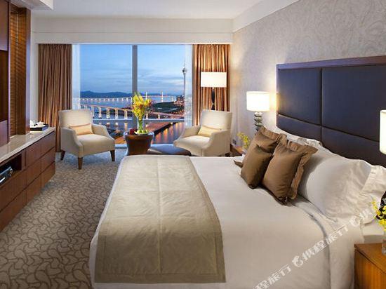 澳門文華東方酒店(Mandarin Oriental Macau)豪華湖景三人房