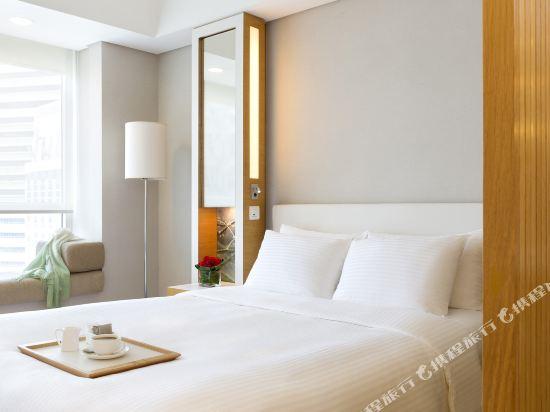 香港今旅酒店(Hotel Jen Hong Kong)豪華城景客房