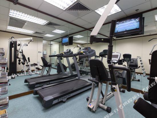 香港珀麗酒店(Rosedale Hotel Hong Kong)健身房