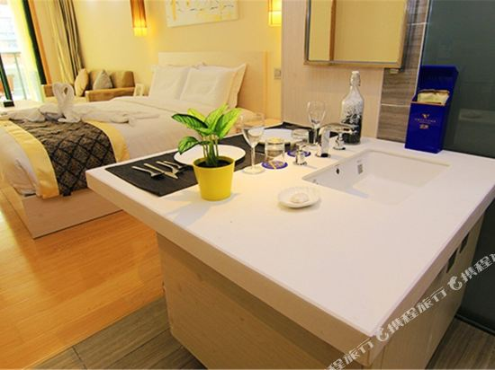 深圳途家斯維登度假公寓(東部華庭大梅沙)高級大床房