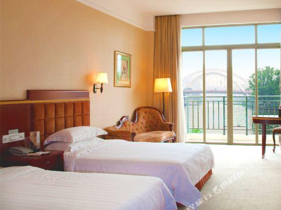中山江畔商務酒店(Riverside Business Hotel)江景雙床房