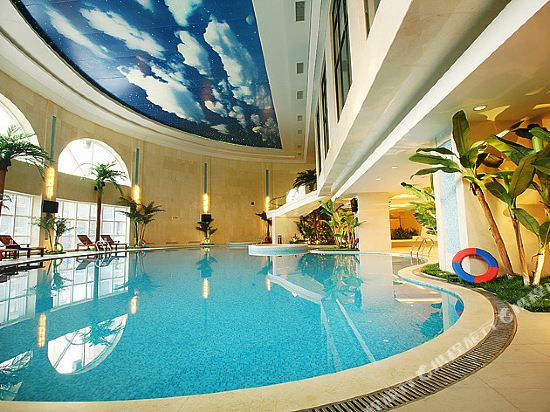 北京麗景灣國際酒店(Lijingwan International Hotel)室內游泳池