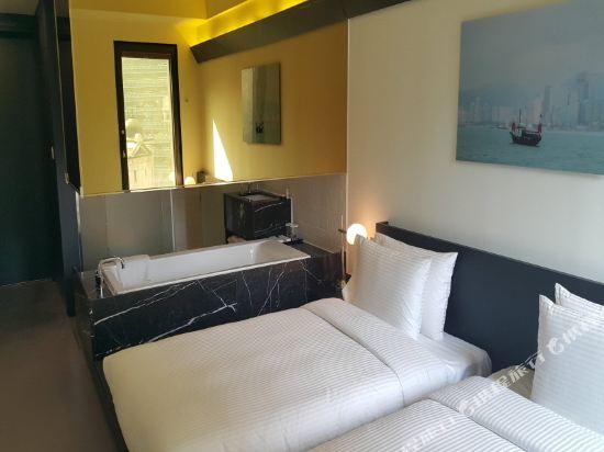 首爾明洞喜普樂吉酒店(Sotetsu Hotels The SPLAISIR Seoul Myeongdong)高級拉泰赫家庭房(攜程自營)