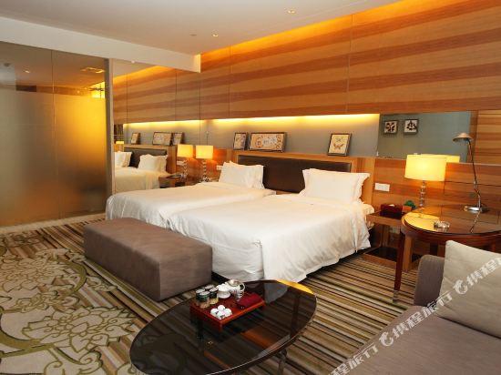 東莞厚街國際大酒店(HJ International Hotel)豪華雙床房水療養生房