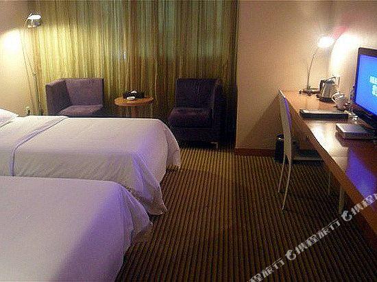 中山平謙精品酒店(Plainvim Boutique Hotel)中式雙床房