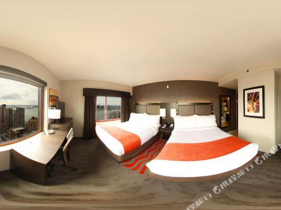 紐約曼哈頓金融區假日酒店(Holiday Inn Manhattan Financial District New York)標準房(2張大床)