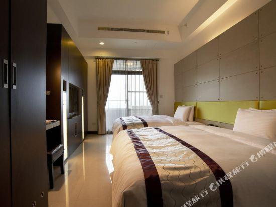 台北大師商旅(Master Hotel)樂活四人套房
