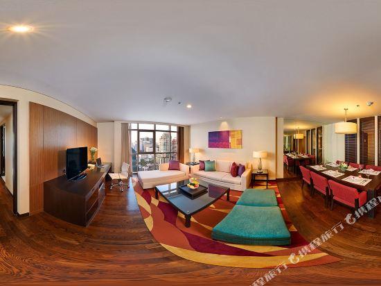 曼谷撒通維斯塔萬豪行政公寓(Sathorn Vista, Bangkok - Marriott Executive Apartments)三卧室行政套房