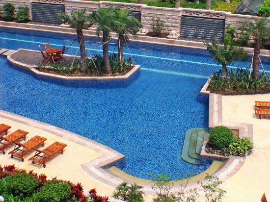 中山金鑽酒店(Golden Diamond Hotel)室外游泳池