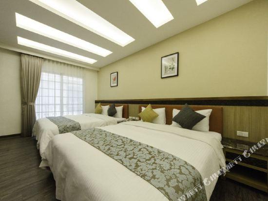 屏東墾丁大街海逸渡假旅店民宿(Haiye Guest House Hostel)精緻四人房