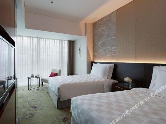 大阪萬豪都酒店(Osaka Marriott Miyako Hotel)俱樂部城景高級雙床房