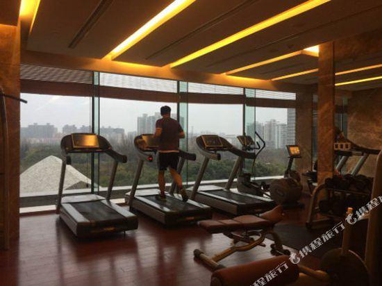 上海中谷小南國花園酒店(WH Ming Hotel)健身房