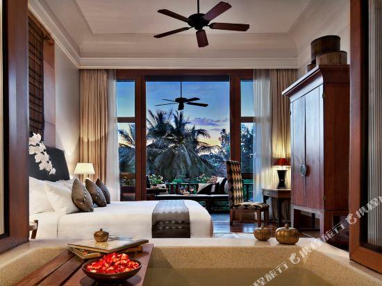 華欣安納塔拉度假酒店(Anantara Hua Hin Resort)環礁湖俱樂部客房