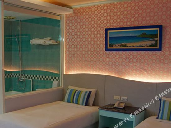 墾丁南灣度假飯店(Kenting Nanwan Resorts)作廢浪漫典雅(不看海)雙人房003