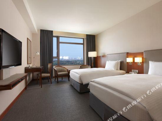 台中港酒店(Taichung Harbor Hotel)豪華雙床房