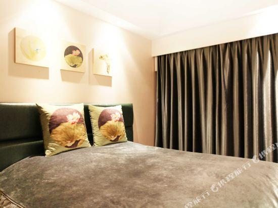 XY酒店公寓(北京金茂府店)(XY Apartment Hotel (Beijing Jinmaofu))智能藝術家庭套房