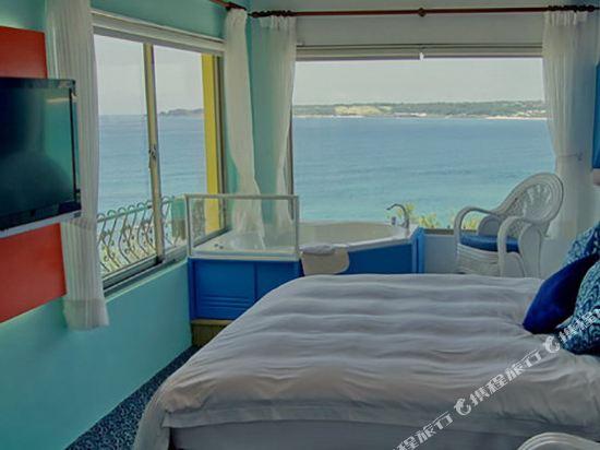 墾丁南灣度假飯店(Kenting Nanwan Resorts)作廢夢幻海景-泡澡看海雙人房