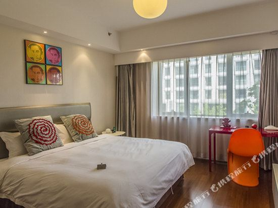 XY酒店公寓(北京金茂府店)(XY Apartment Hotel (Beijing Jinmaofu))特惠大床房