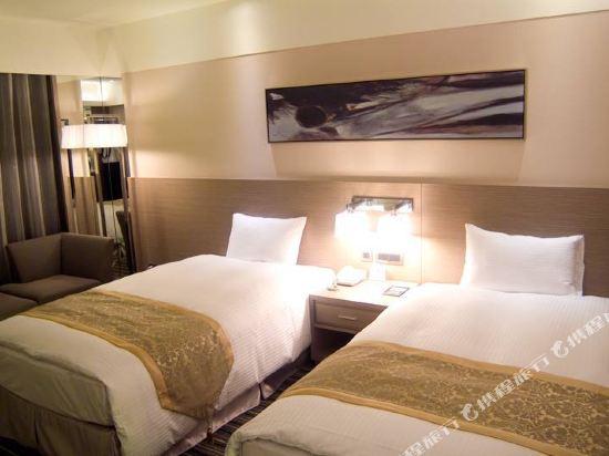 台北三德大飯店(Santos Hotel)行政雙床房