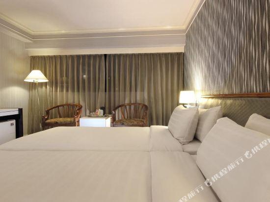 台北懷寧旅店(KEYMANS HOTEL)歐式雙床套房