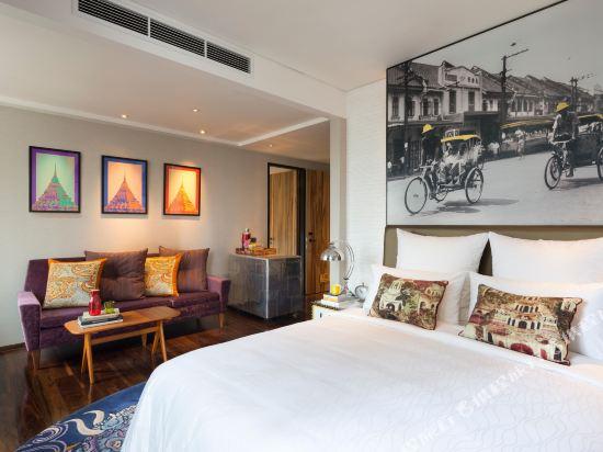 曼谷無線路英迪格酒店(Hotel Indigo Bangkok Wireless Road)豪華房