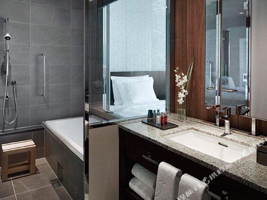 大阪萬豪都酒店(Osaka Marriott Miyako Hotel)高層城景豪華雙床房