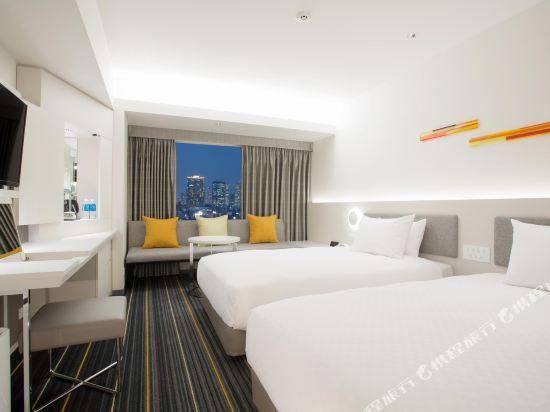 大阪日航酒店(Hotel Nikko Osaka)新高級雙床房