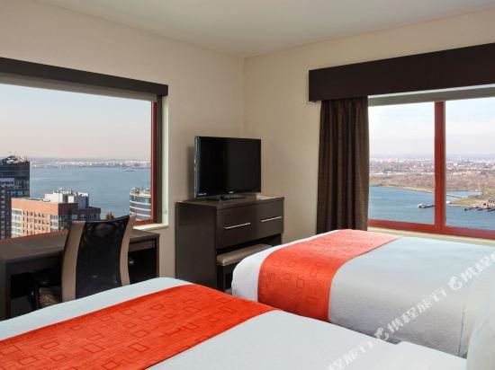 紐約曼哈頓金融區假日酒店(Holiday Inn Manhattan Financial District New York)城景2雙人床房
