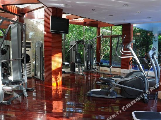 三正半山酒店(東莞橋頭店)(Goodview Hotel (Dongguan Qiaotou))健身房
