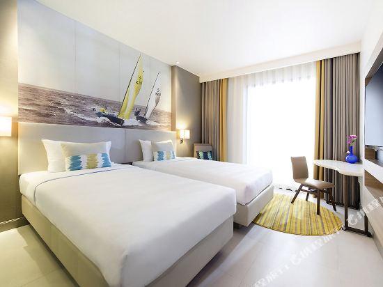 芭堤雅海洋度假美居酒店(Mercure Pattaya Ocean Resort)豪華海景房(2單人床)