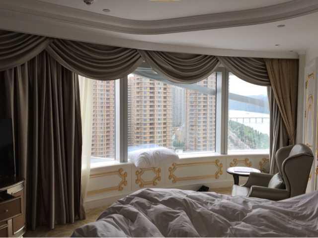 布艺 窗帘 家居 帘 起居室 设计 装修 640_480