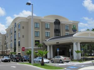 坦帕 南佛羅里達大學花園智選假日酒店和套房(Holiday Inn Express Hotel & Suites Tampa USF Busch Gardens)
