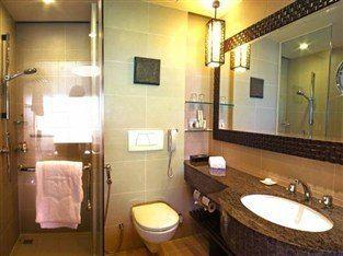哥打京那巴魯香格里拉丹絨亞路酒店(Shangri-La's Tanjung Aru Resort & Spa Kota Kinabalu)豪華閣山景客房