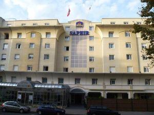 里昂莎菲爾貝斯特韋斯特酒店(BEST WESTERN Saphir Lyon)