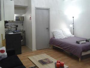 南特市中心別致一室公寓(Studio Japonais Coeur de Nantes)