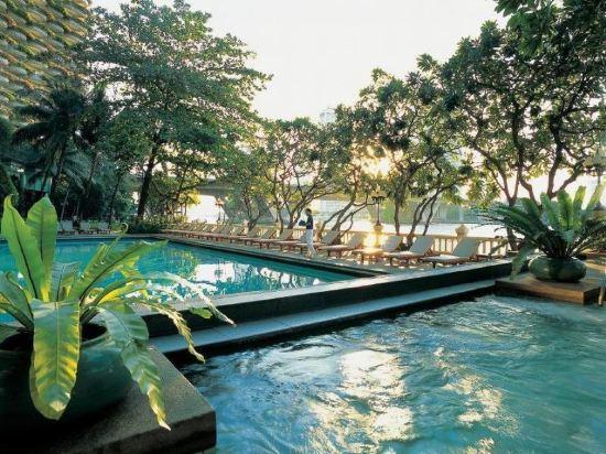 曼谷香格里拉酒店(Shangri-La Hotel Bangkok)Krungthep樓Krungthep河景客房
