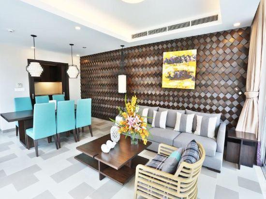 峴港雅高尊貴度假村(Premier Village Danang Resort Managed by AccorHotels)花園景四卧室別墅