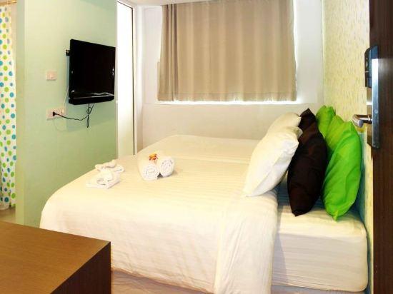 曼谷是隆楠特拉酒店(Nantra Silom Hotel Bangkok)房間