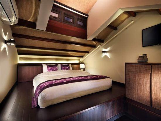 新加坡客來福酒店惹蘭蘇丹33號(Hotel Clover 33 Jalan Sultan Singapore)閣樓套房1