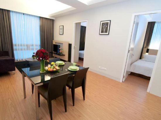 吉隆坡瑞園公寓(Swiss Garden Residences Kuala Lumpur)雙臥室尊貴房1
