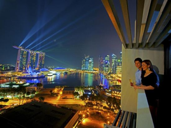 新加坡濱華大酒店(Marina Mandarin Singapore)濱海灣景觀房