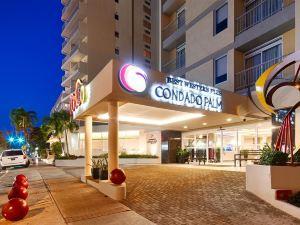 棕櫚康達多貝斯特韋斯特優質套房酒店(BEST WESTERN PLUS Condado Palm Inn & Suites)
